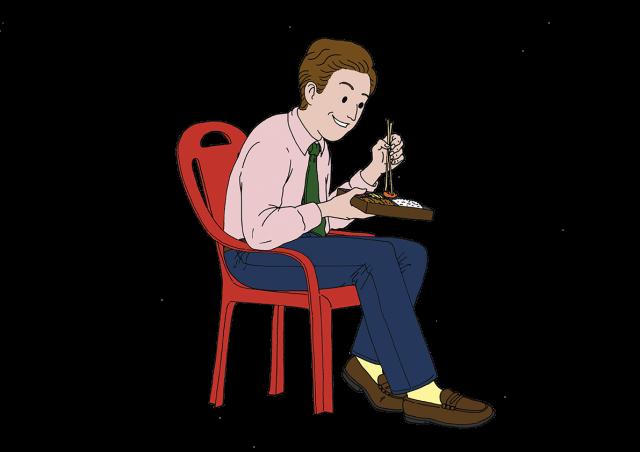 먹는 괴로움 VS. 먹는 즐거움-Harper's BAZAAR Korea 2016년 10월호