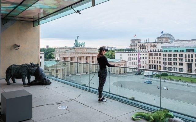 Jon Rafman, 'View Of Parizer Platz' Installation View, Berlin Biennial 9, 2016