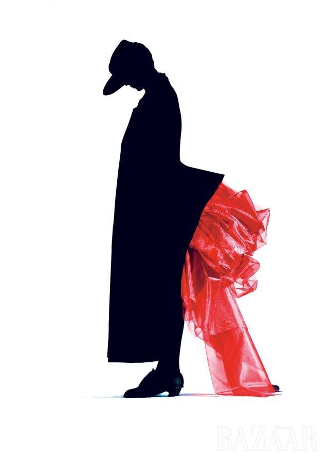 Red Bustle, Yohji Yamamoto, 1986