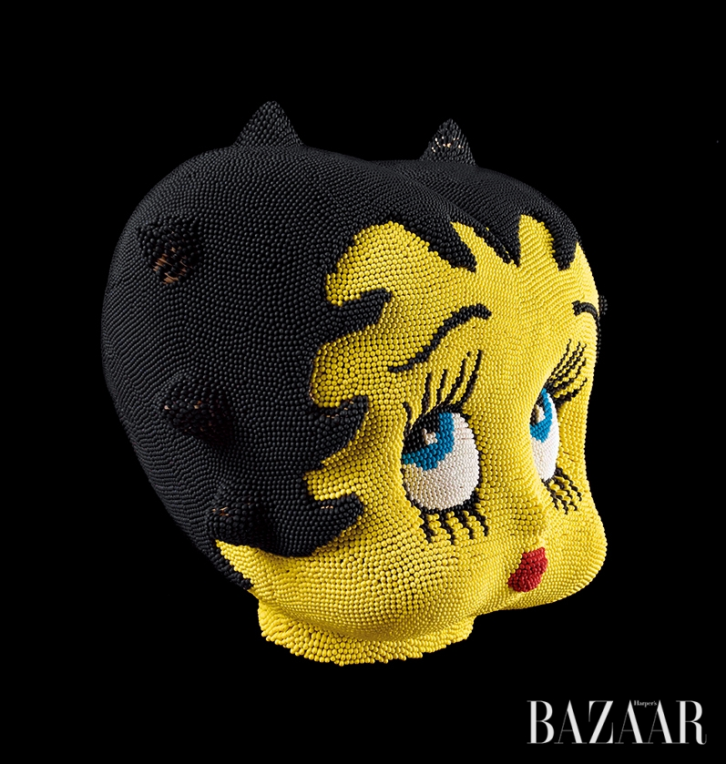 데이비드 마하(David Mach), 'Betty Boop Yellow Match Head', 2012