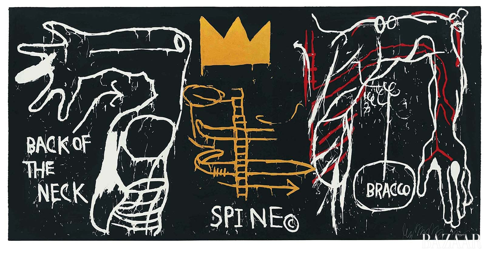 'Back of the Neck', 1983 ©The Estate of Jean-Michel Basquiat by SIAE 201