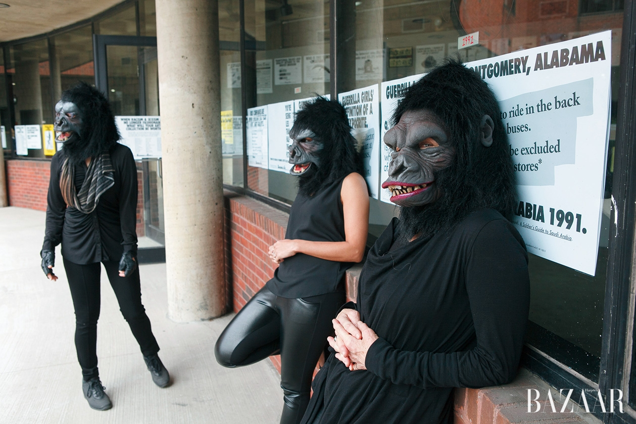 Guerrilla Girls by Andrew Hindraker, 2015