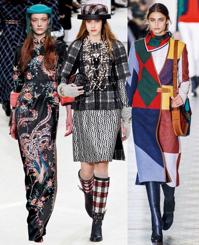 Various Patterns 왼쪽부터 Gucci, Chanel, Tory Burch.