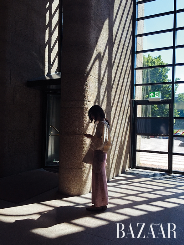 노이에 피나코테크에서 만난 늦은 오후의 햇살
