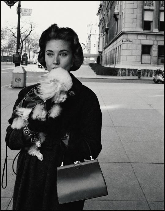 1958년 뉴욕의 어퍼 피프스 애비뉴