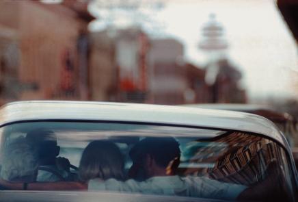 1960년 영화 <어울리지 않는 사람들> 촬영장에서 마릴린 먼로와 아서 밀러