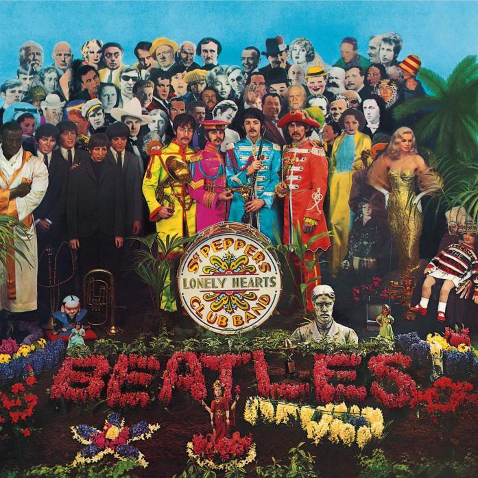 비틀스의 Sgt Pepper 앨범 커버