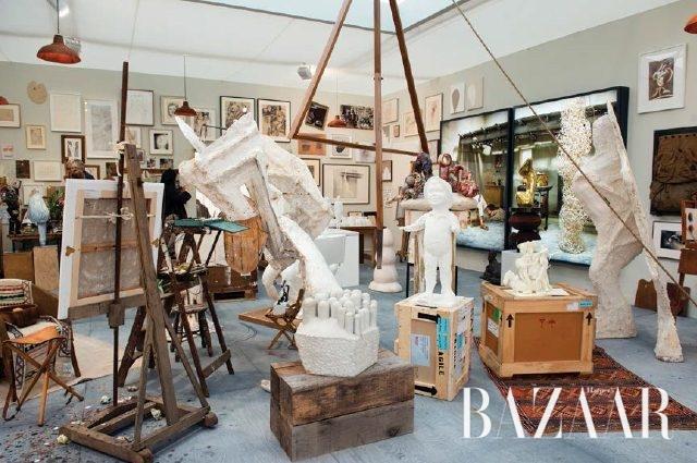 '예술가들의 아틀리에'라는 제목으로 부스를 꾸민 하우저 & 워스 갤러리