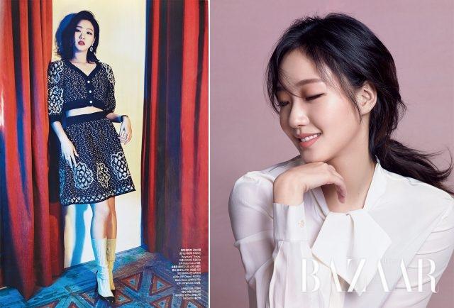 김고은의 뷰티 시크릿 - 하퍼스 바자 Harper's BAZAAR Korea 2017년 1월호