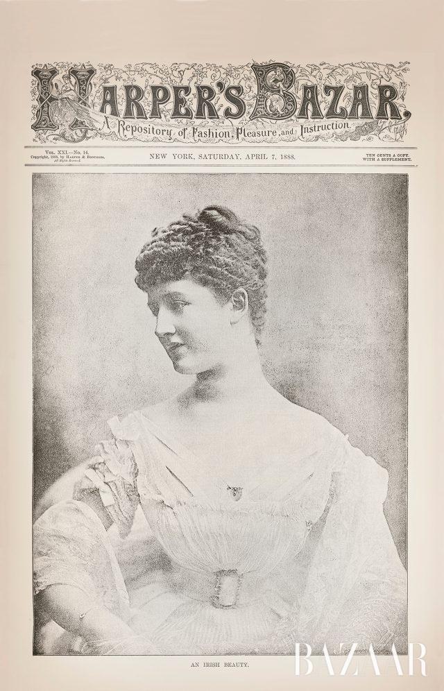 표지에 모델의 사진을 처음 실은 1888년 4월 7일호