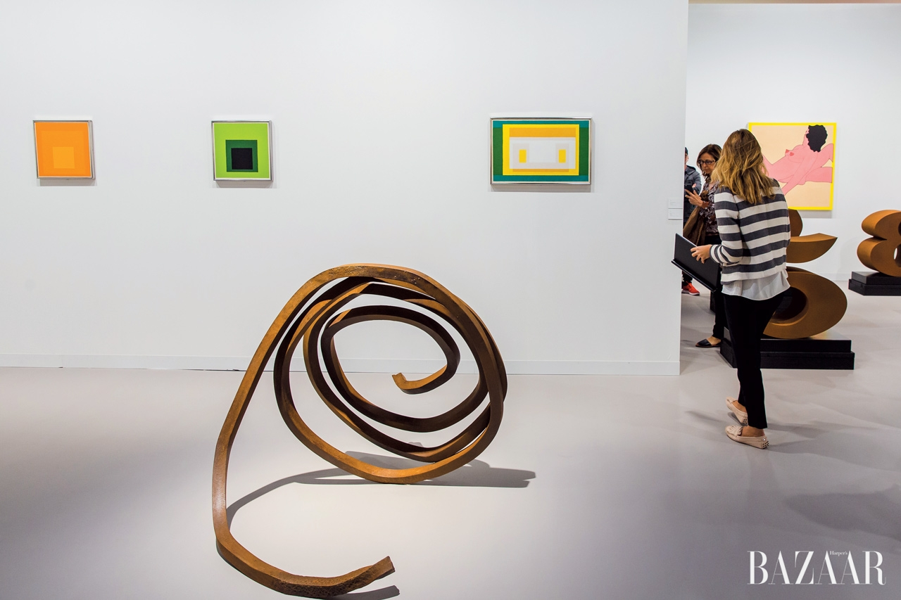 조세프 알베르(Josef Albers), 존 웨슬리(John Weseley), 베리 플라나간(Barry Flanagan) 등의 작품을 만날 수 있었던 런던의 와딩턴 커스톳(Waddington Custot) 갤러리 부스