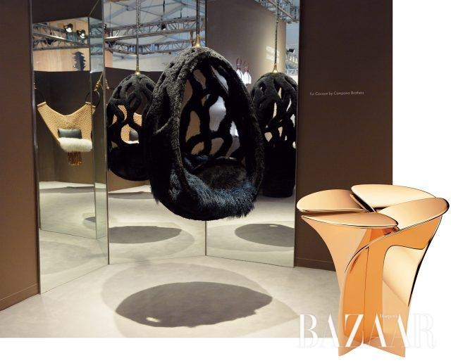 캄파냐 형제의 퍼 코쿤 의자, 도쿠진 요시오카의 블라섬 스톨