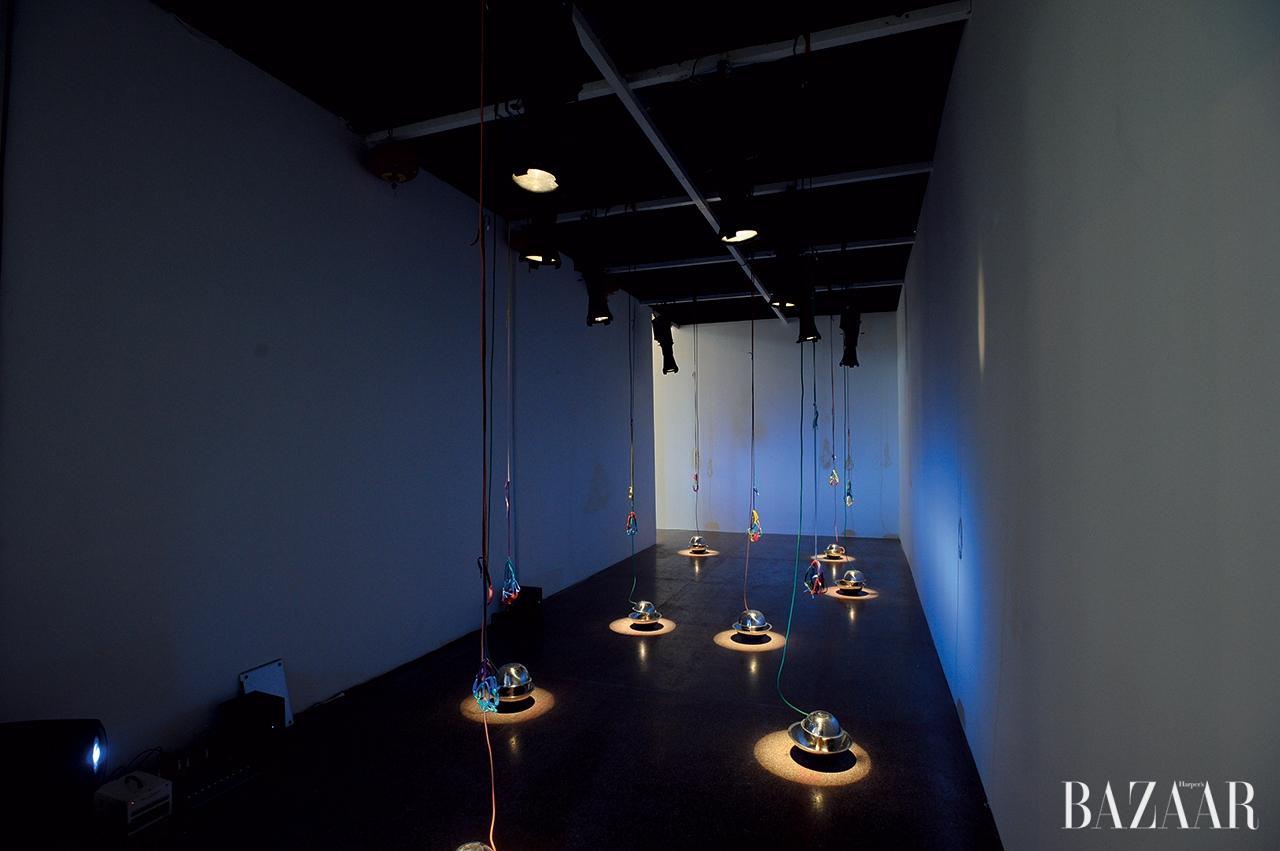다케 니나가와 갤러리에서 선보인 작품