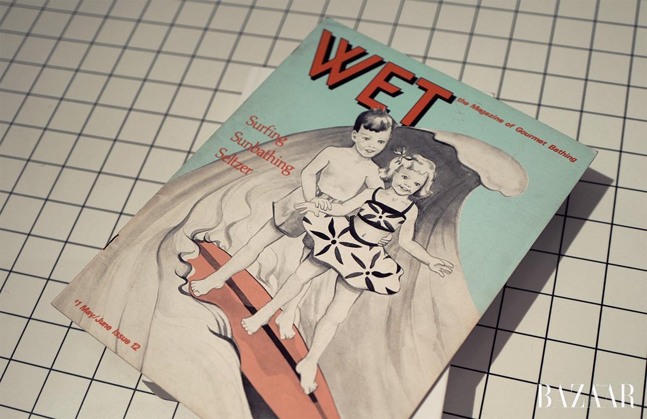 서핑과 스케이트보드문화에 대한 이야기로채워진 'WET' 매거진