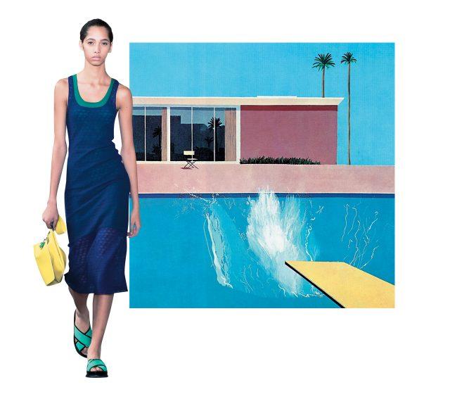 David Hockney, 'A Bigger Splash', 1967