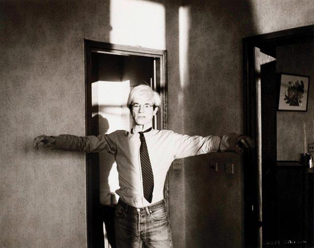 'Andy Warhol', 1982,Gelatin silver print, 10.3×25.4cm
