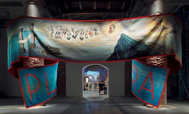 제53회 베니스 비엔날레 'Making Worlds'에 설치된 '플루스 울트라(Plus Ultra)', 2009Photo: Andy Stagg, Courtesy Kate MacGarry, London