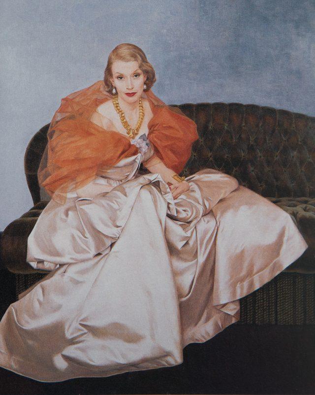 베르나르 부테 드 몽벨, '밀리선트 로저스', 1949, 캔버스에 유채, 피터 샘 & 배리 프리드먼 주식회사