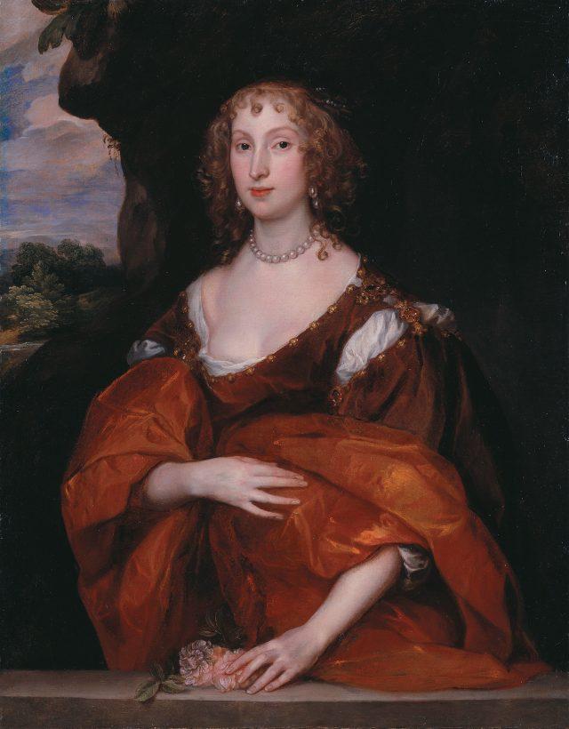 앤서니 반다이크, '메리 힐, 레이디 킬리그루의 초상', 1683, 캔버스에 유채, 106.5×83.3cm, 런던 테이트 미술관