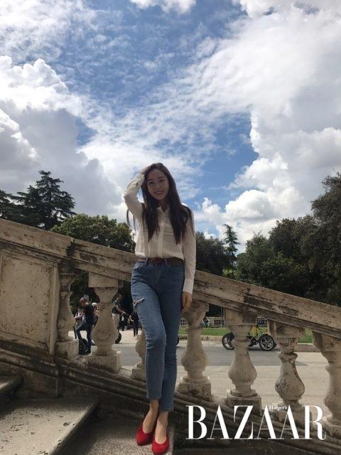 제시카, 이탈리아, 여행 - 하퍼스 바자