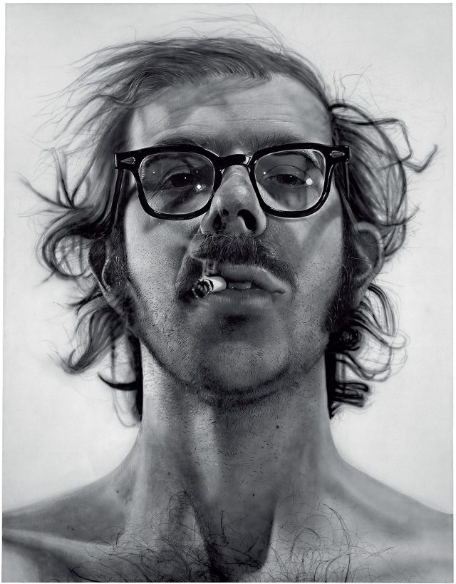 척 클로스, 'Big Self-Portrait', 1967-1968, Acrylic on canvas, 273.05×212.09cm, © Chuck Close, Courtesy Pace Gallery