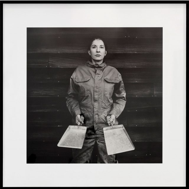 마리나 아브라모비치(Marina Abramovi ́c), 'The Cleaner', Fine art pigment print on Hahnemühle paper, 139×139cm © Marina Abramovi ́c . Courtesy Lisson Gallery. Photography: Dawn Blackman