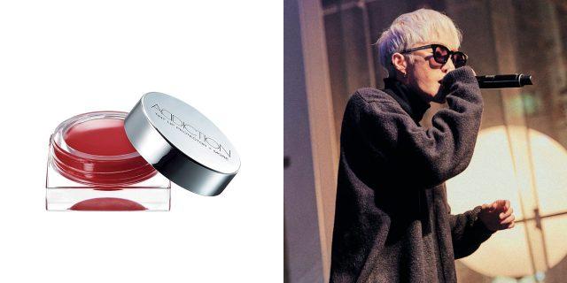 감미로운 목소리의 주인공, 자이언티는 파운데이션으로 피부톤을 정리한 뒤 틴트 제품으로 생기를 더했다.Addiction 틴트 립 프로텍터 플러스 모어, 007 6.5g, 3만원