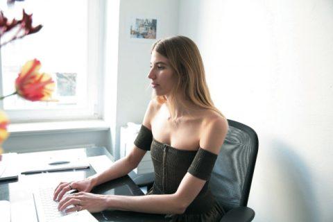 베로니카 하일브루너 모델, 패션 에디터
