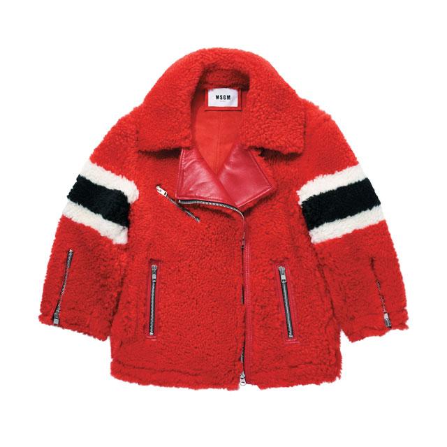 오버사이즈의 시어링 재킷은 4백52만원으로 MSGM by ihanstyle.com