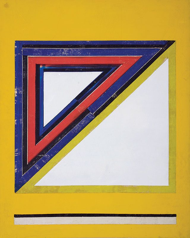 서승원, '동시성 Simultaneity 67-9', 1967, Oil on canvas, 162×130cm