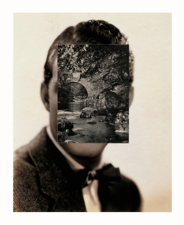 John Stezaker, 'Mask XII', 2005, Collage, 23.8×19cm ⓒ John Stezaker. Courtesy The Approach, London. Photo: FXP photography