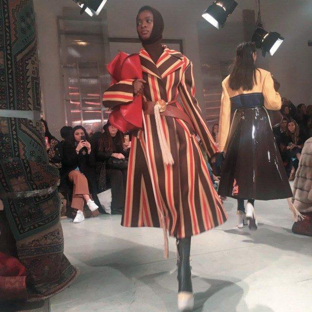 @Marni컬러의 다양한 베리에이션이 돋보였던 마르니 컬렉션.