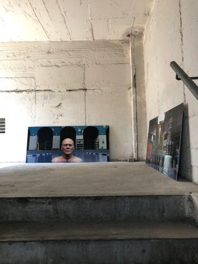 'FACE: Figures and Portraits' 전시 전경, Pekin Fine Arts, 2018