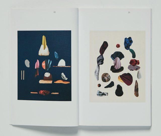 아티스트 마린 가브리엘라 노르딘의 작품을 담은 책 속 이미지.