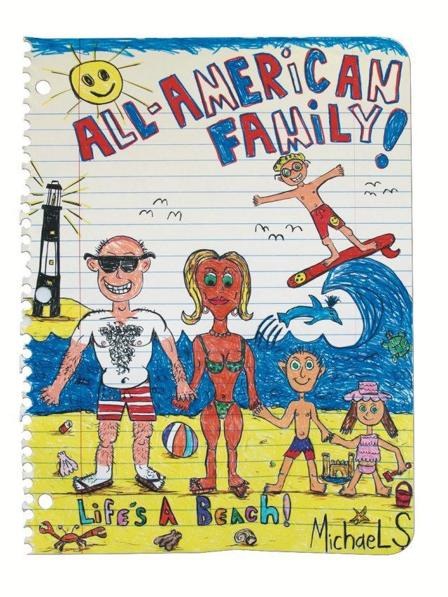마이클 스코긴스, 'All American Familly XXVI', 2016, 170×129cm