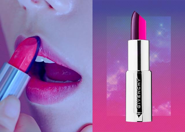 Givenchy 르 루즈 투 톤 립스틱 스컬프트 01호 (리미티드 에디션, 국내 미출시)