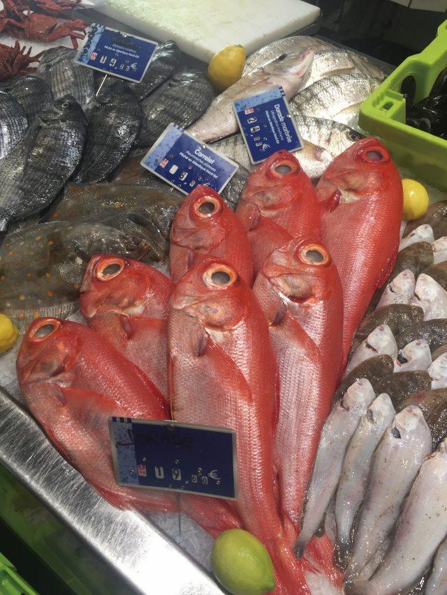 신선한 자연의 맛이 가득한 생선들.