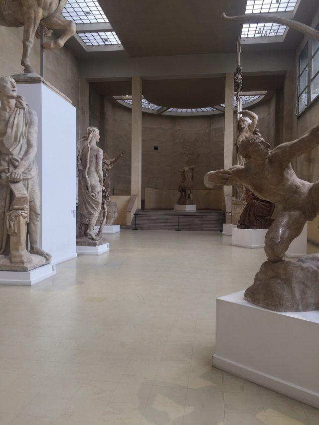 조각가 앙투안 부르델의 아틀리에.
