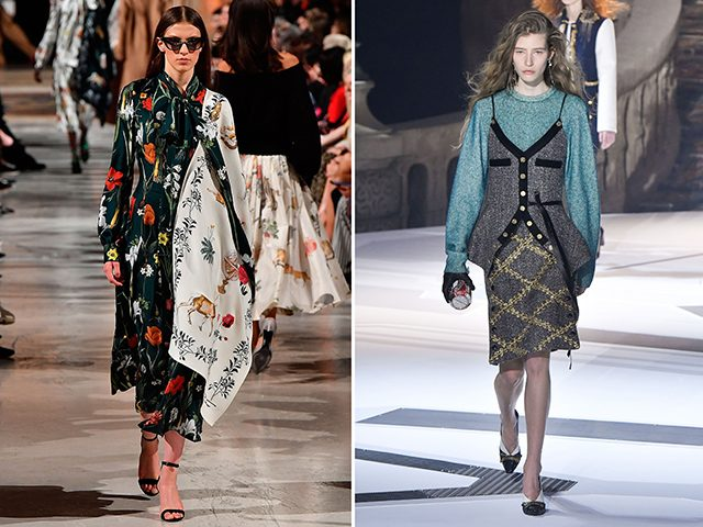 Oscar de la Renta VS Louis Vuitton