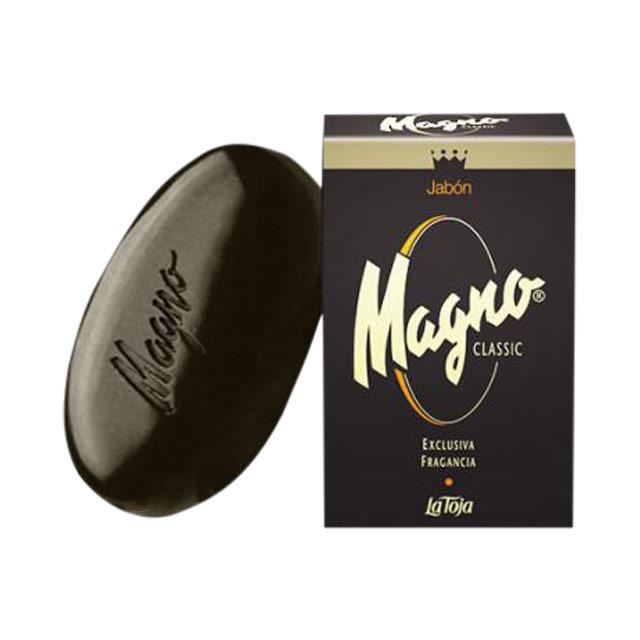 비누는  약 £7.95로 Magno by La Toja