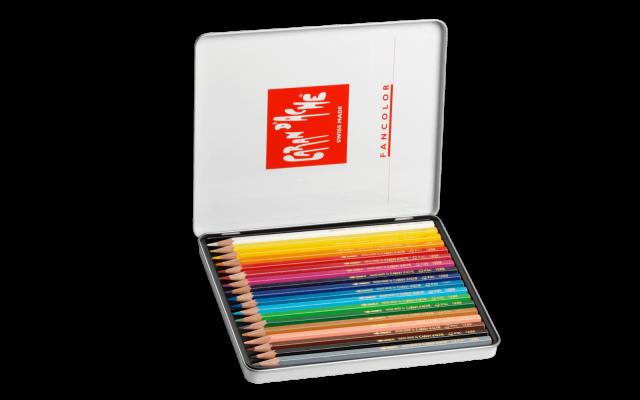 색연필은  약 £14.99로 Caran d'Ache