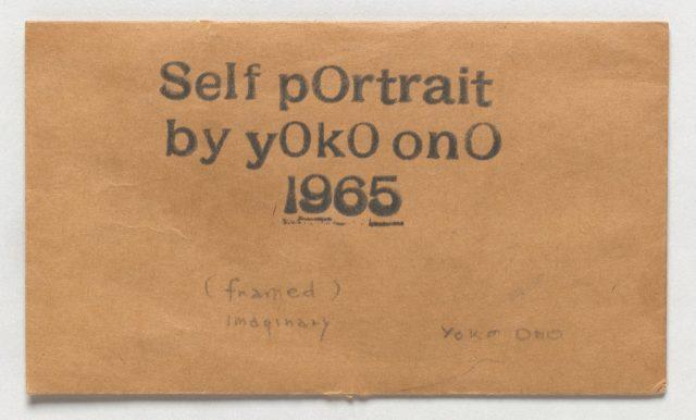 'Self Portrait', 1965.