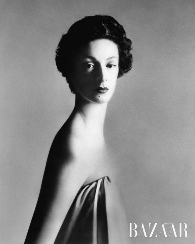 마렐라 아넬리(Marella Agnelli), 뉴욕, 1953년.