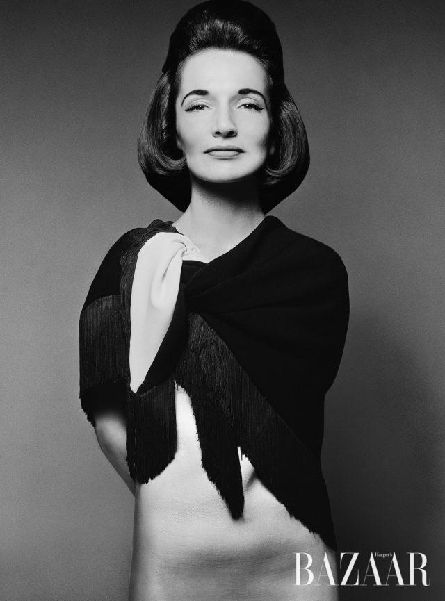 캐롤라인 리 라지윌(Princess Caroline Lee Radziwill), 뉴욕, 1961년 3월 23일.