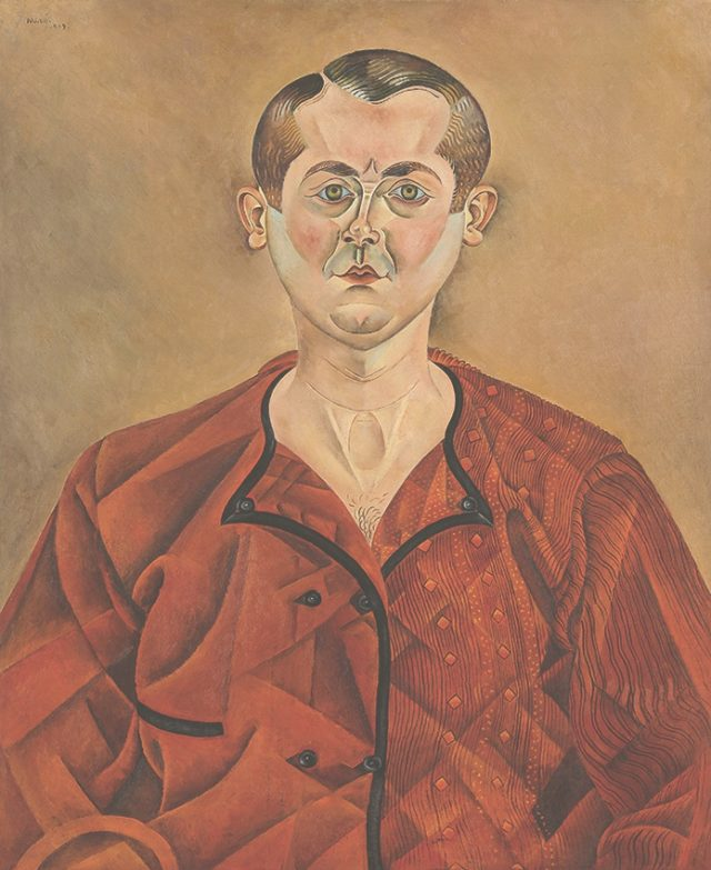 호안 미로의 자화상, 1919, 73×60cm, oil on canvas.