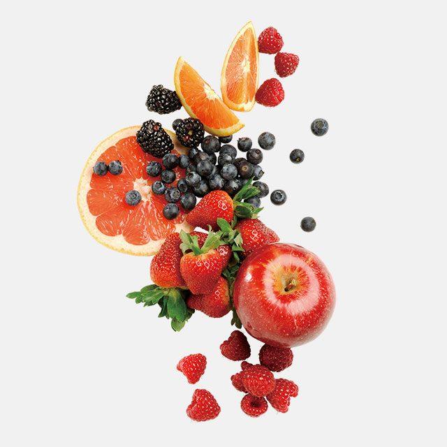 유기농 식품만 먹는 루니 마라는 항상 신선한 과일과 채소를 갖고 다닌다.