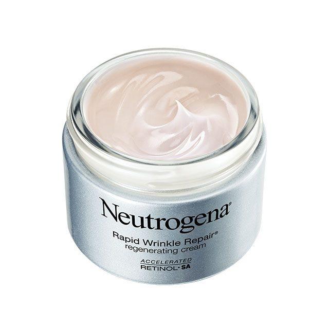 Neutrogena 래피드 링클 리페어 리제너레이팅 크림 27.99달러.