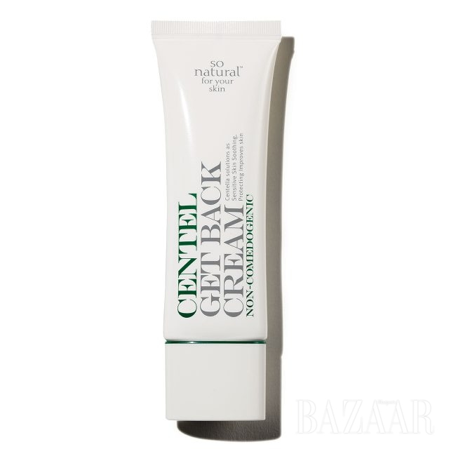 So Natural 센텔 플러스 겟백 크림 센텔라아시아티카, 병풀 추출물 성분이 피부를 진정시켜주는 여드름 전용 크림. 2만7천원대.