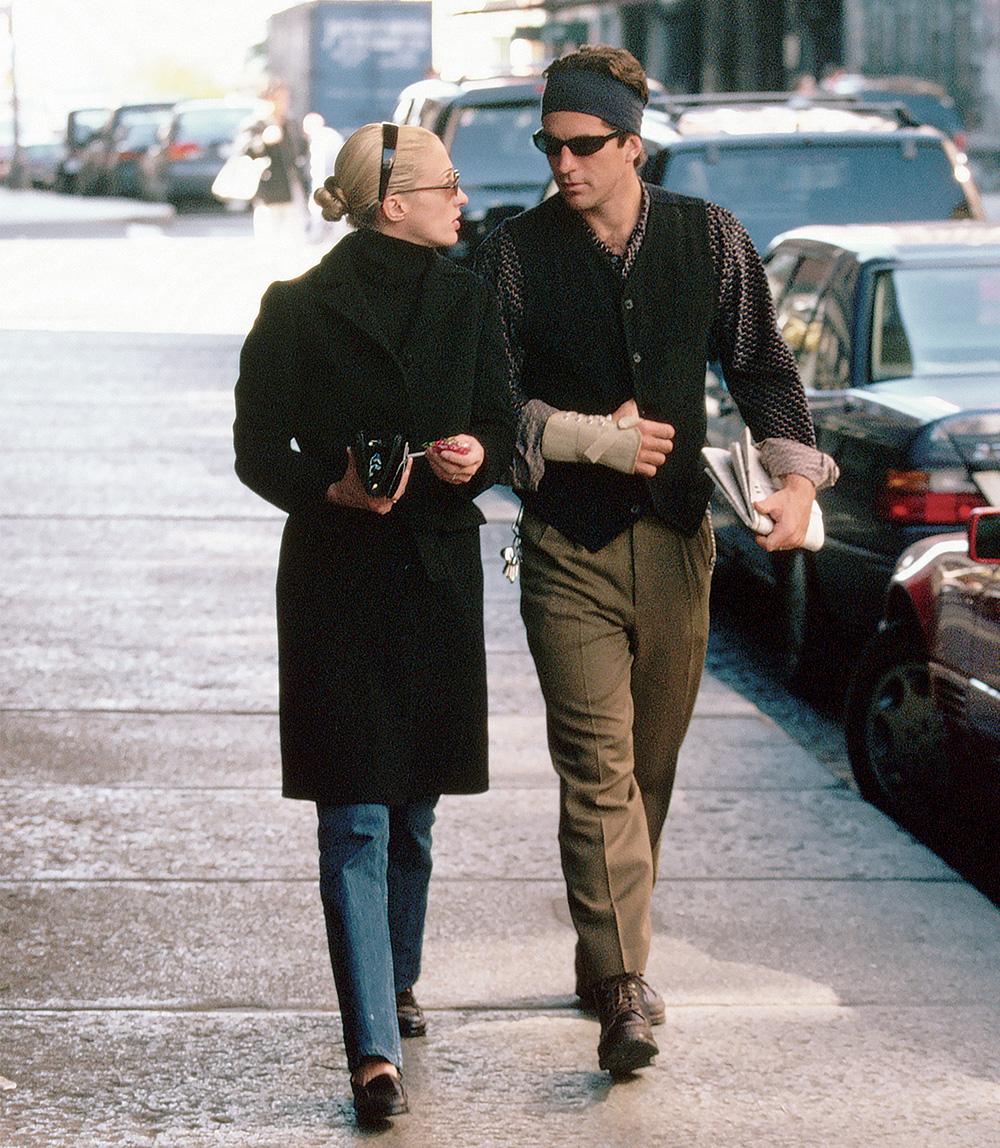 캐롤린 베셋과 케네디 주니어 커플.