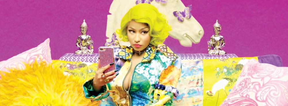 방탄소년단과 니키 미나즈가 함께 만든 'Idol' 뮤직비디오.